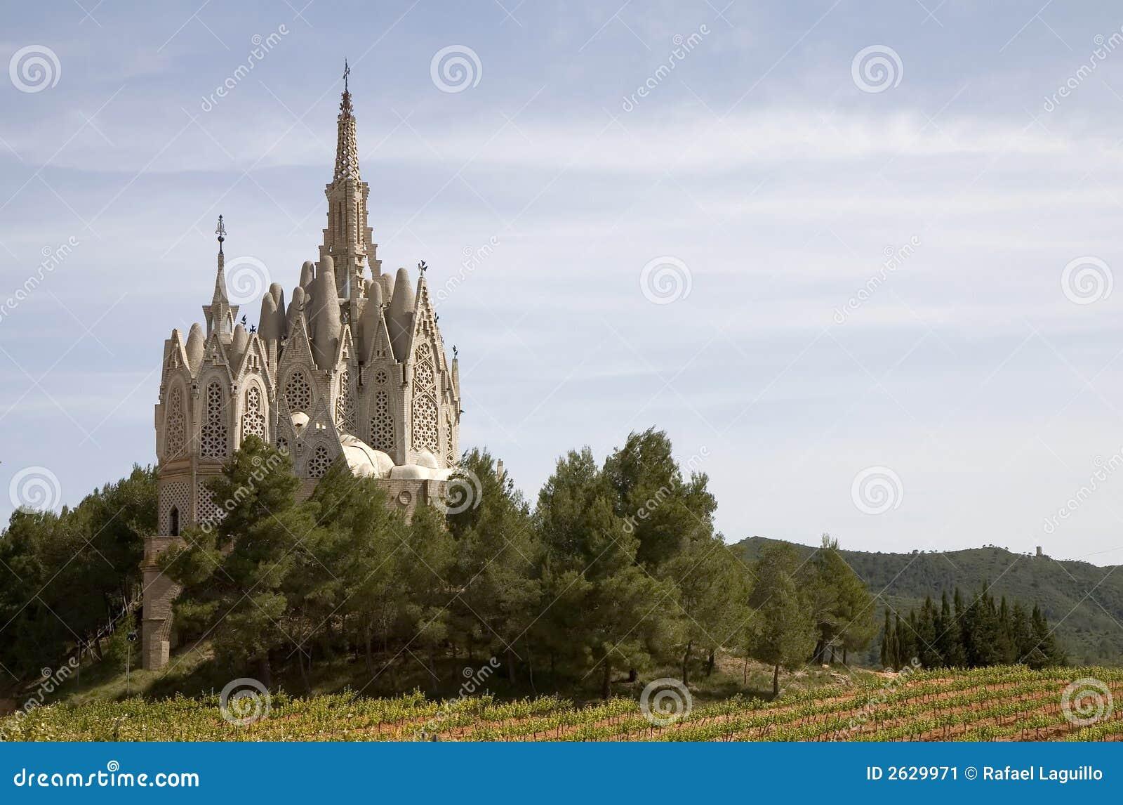 Katalonii Montferri Hiszpanii