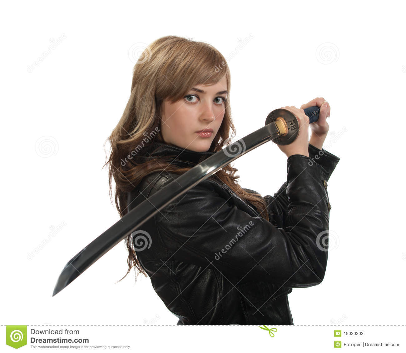 Katana Girl Stock Photos Image 19030303