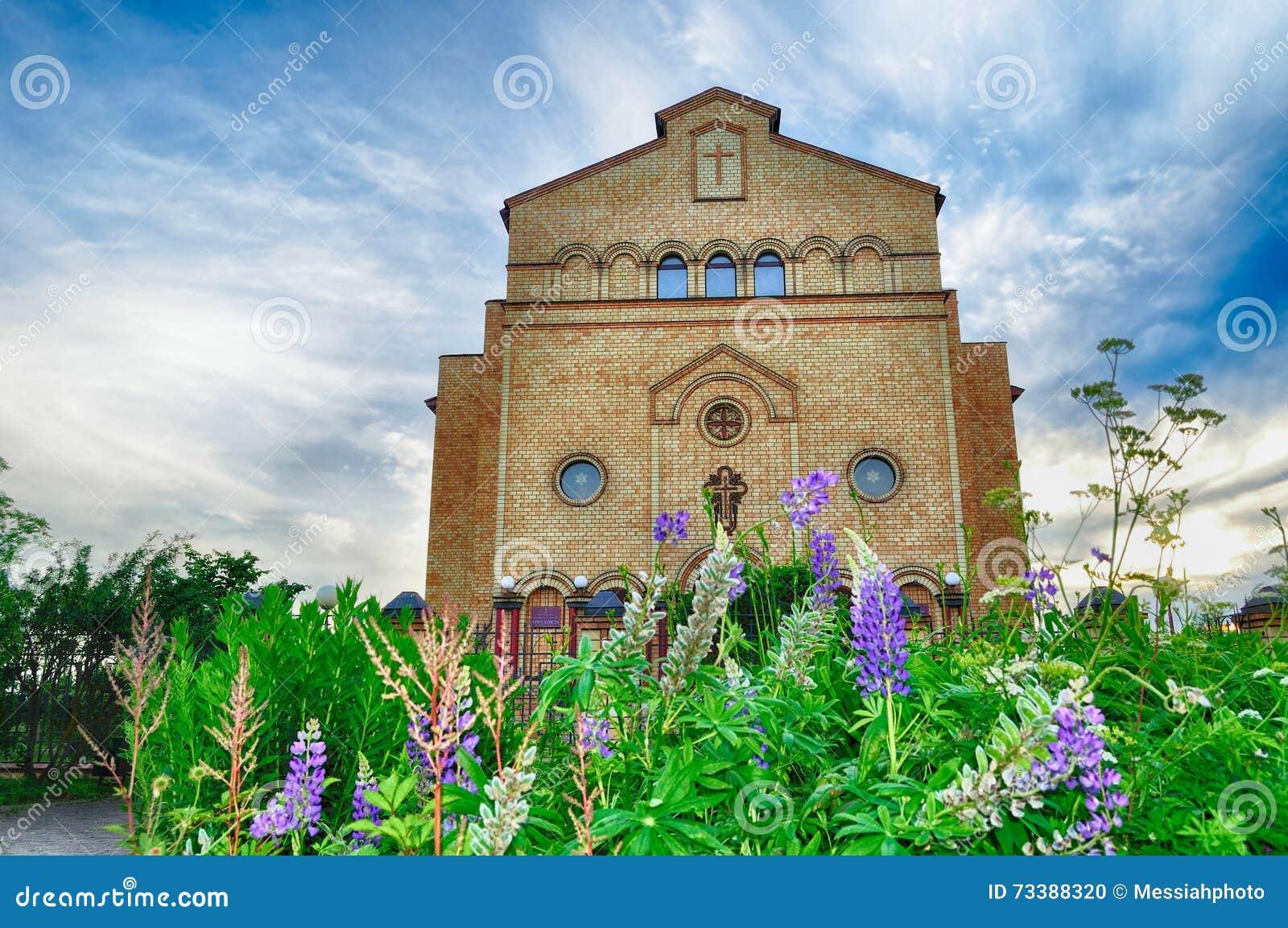 Katedra Chrystus, Chrześcijański Ewangelicki kościół w Veliky Novgorod, Rosja
