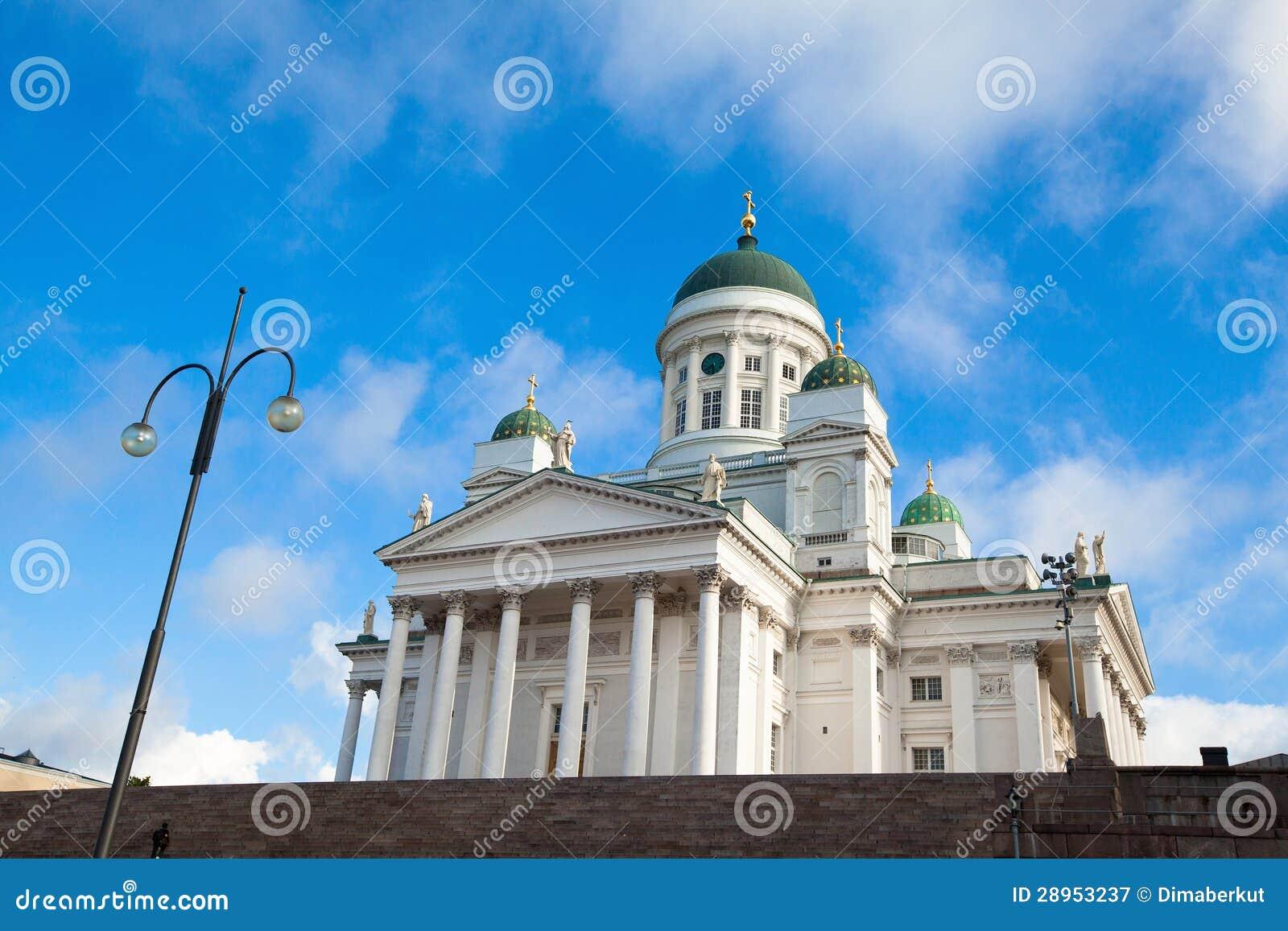 Katedra na senata kwadracie w Helsinki