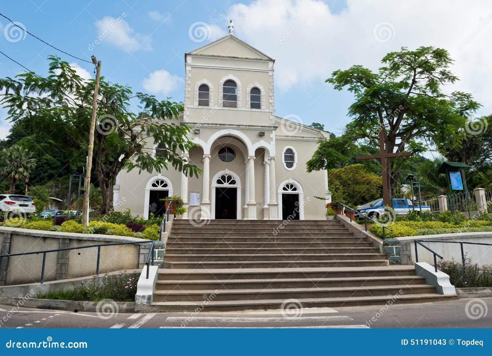 Katedra Niepokalany poczęcie w Wiktoria, Mahe wyspa,