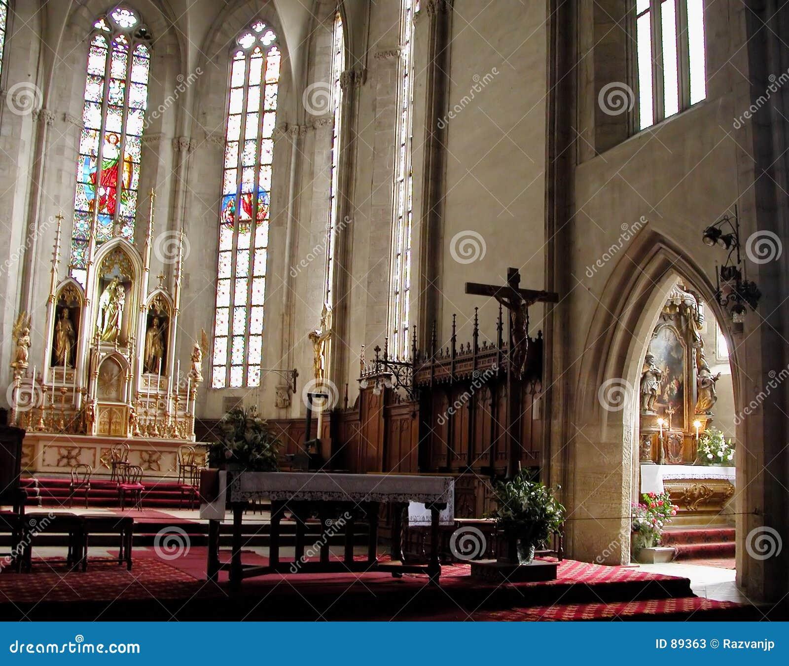 Katedra w środku