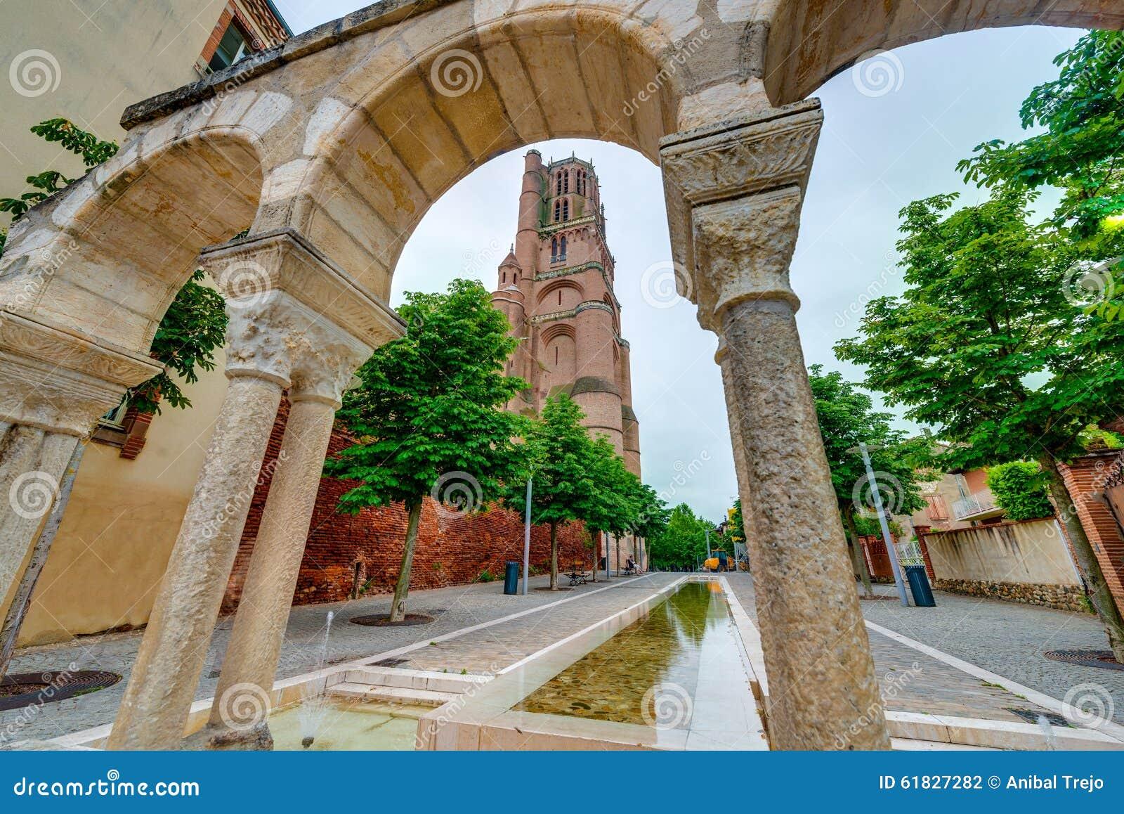 Katedralna bazylika święty Cecilia w Albi, Francja