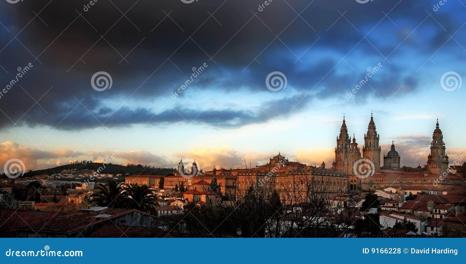 Katedralny compostela de Santiago