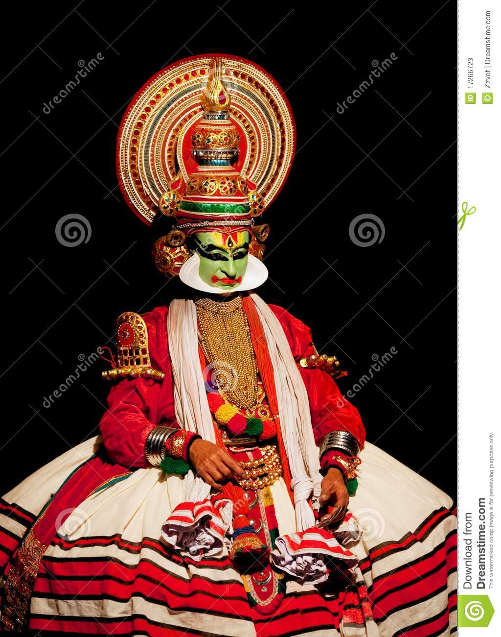 Kathakali Ancient Indian Dance Theater Details