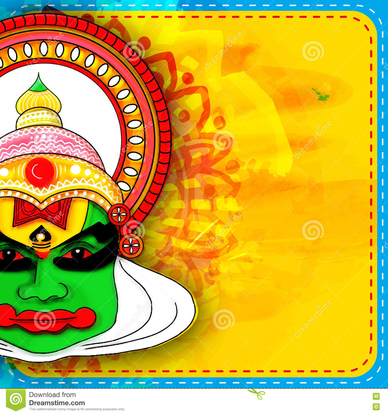 kathakali cartoons pictures illustrations - photo #17