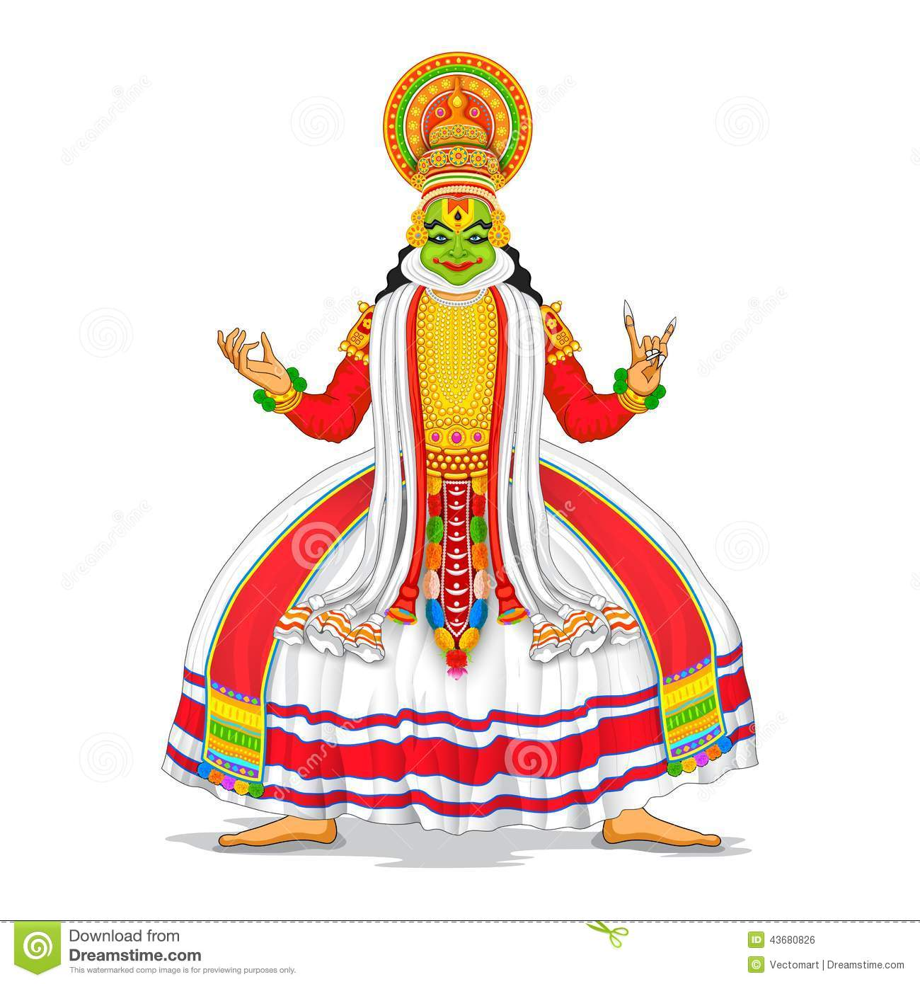 kathakali cartoons pictures illustrations - photo #29