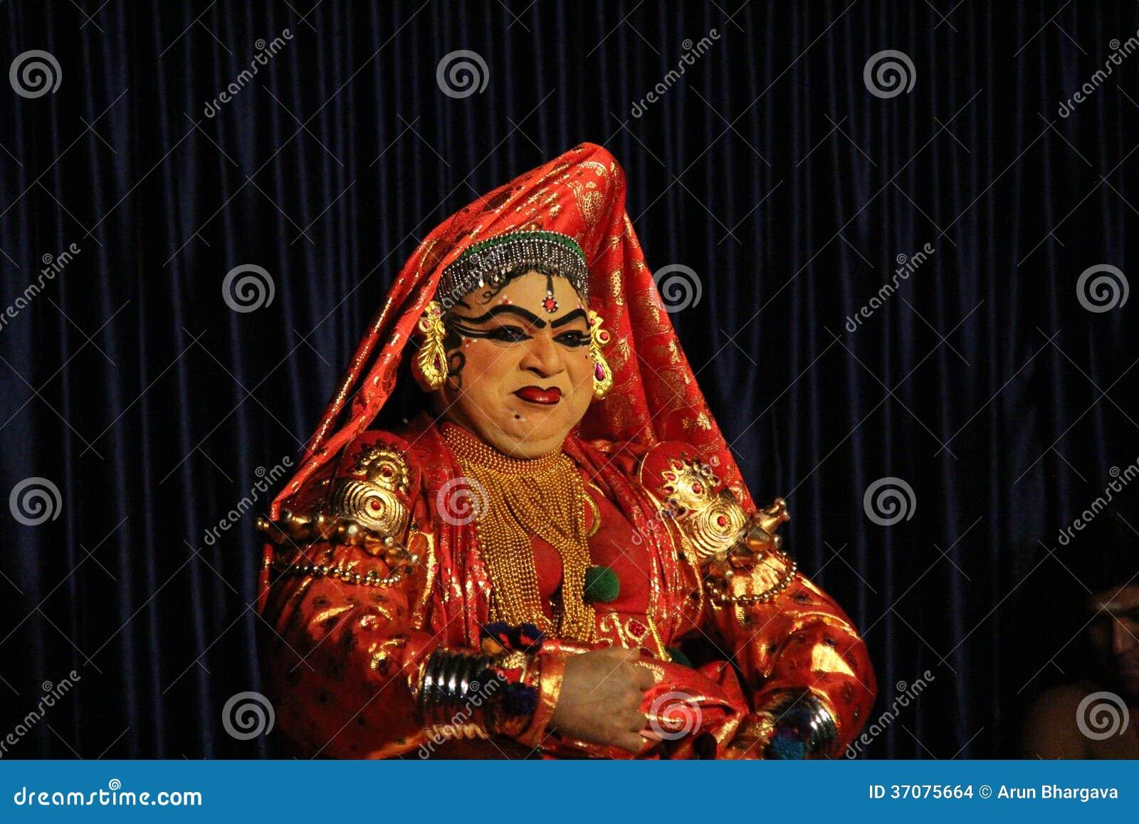 Download Kathakali Dander obraz stock editorial. Obraz złożonej z szczęśliwy - 37075664