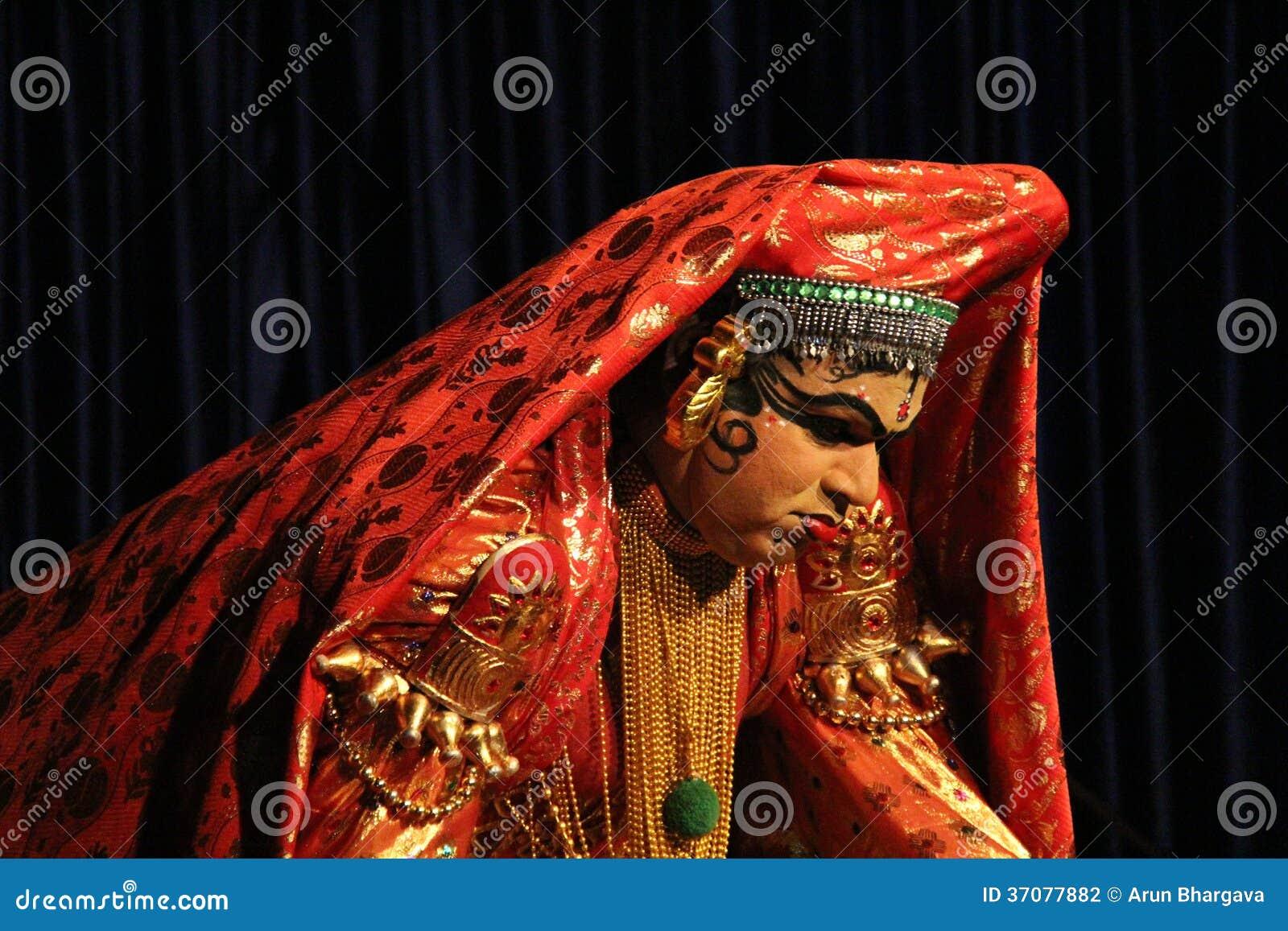 Download Kathakali Dander fotografia editorial. Obraz złożonej z muzyka - 37077882