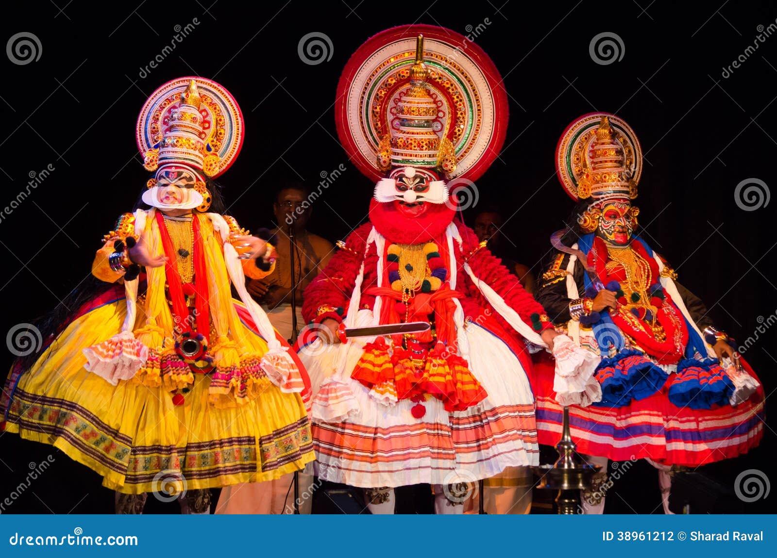 Kathakali, klassiek Zuiden Indisch dans-drama
