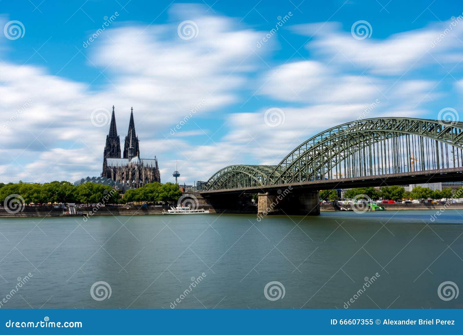 Kathedraal en Hohenzollern-brug
