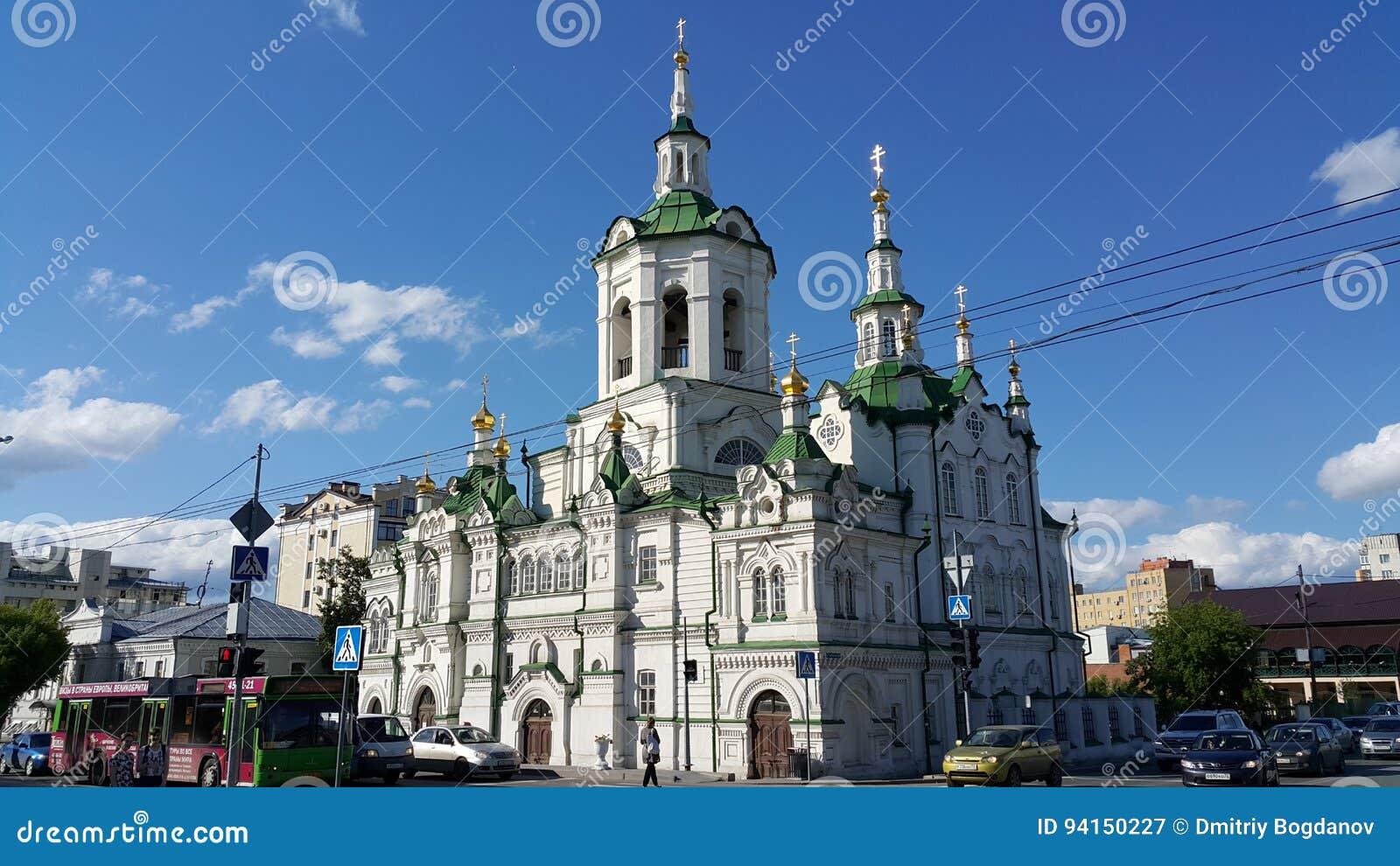Kathedraal in Tyumen
