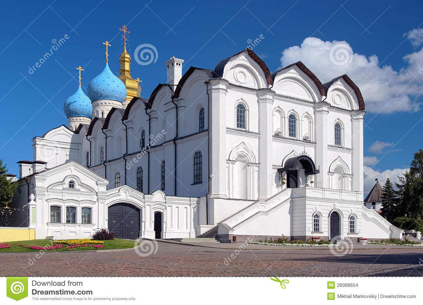 Kathedraal van de Aankondiging in Kazan het Kremlin