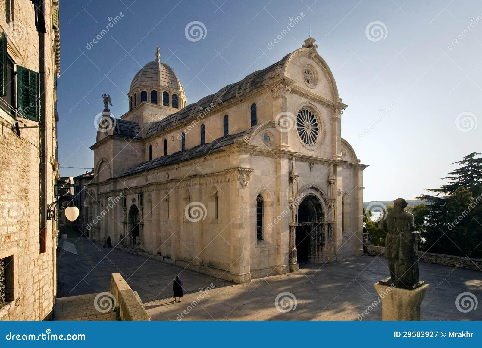 Kathedraal van St. James (SV Jakov) in Sibenik, Kroatië