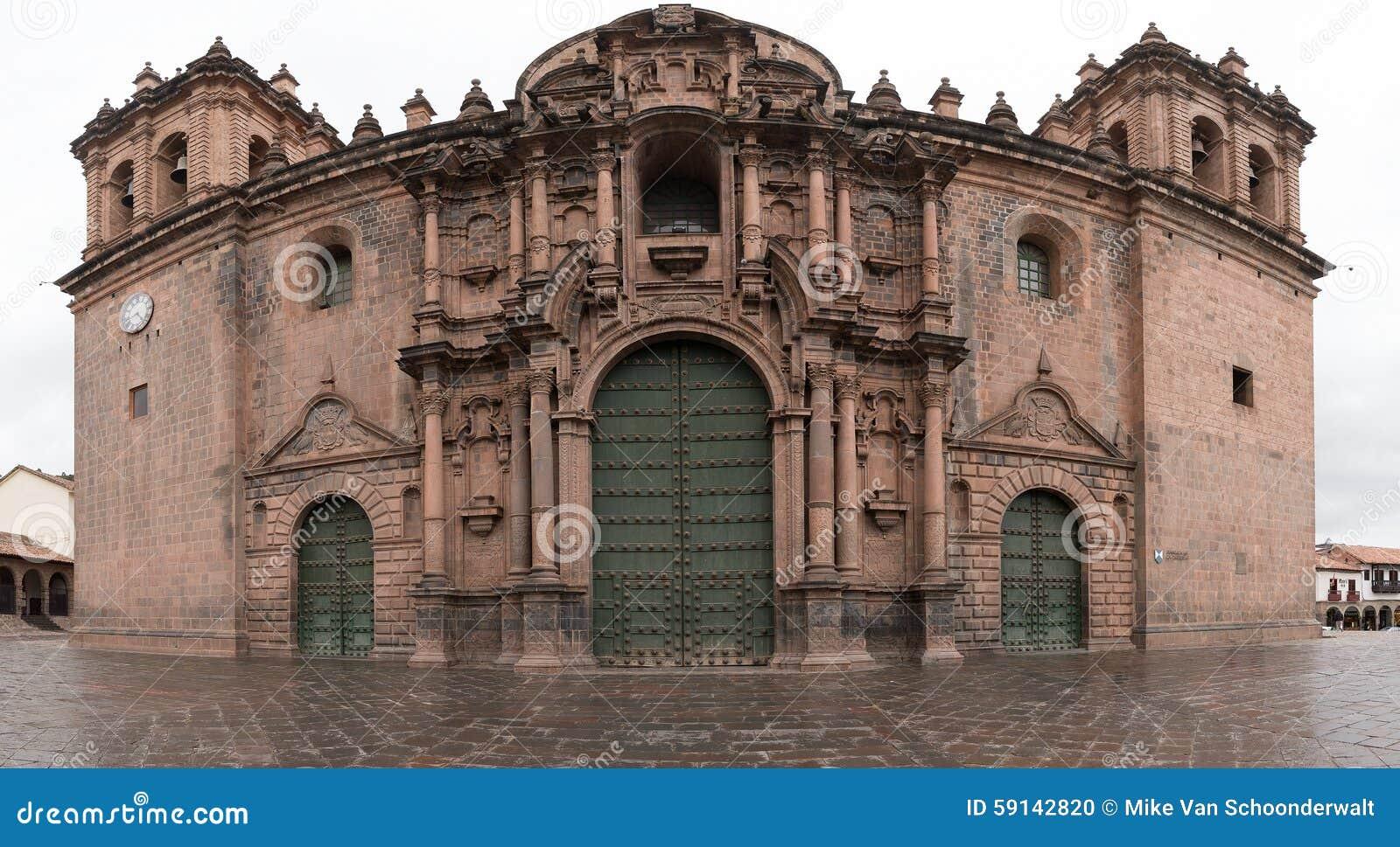 Kathedrale in Cuzco, Peru