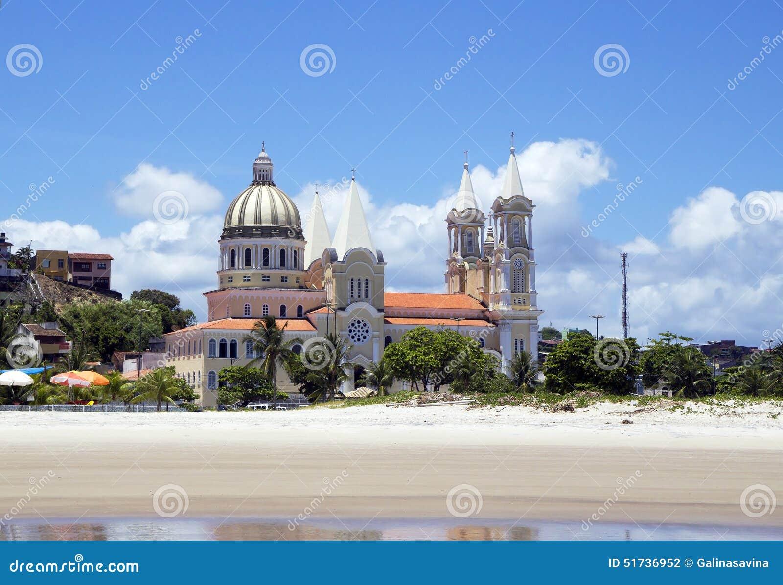 kathedrale in ilheus brasilien stockfoto bild von christentum kathedrale 51736952. Black Bedroom Furniture Sets. Home Design Ideas
