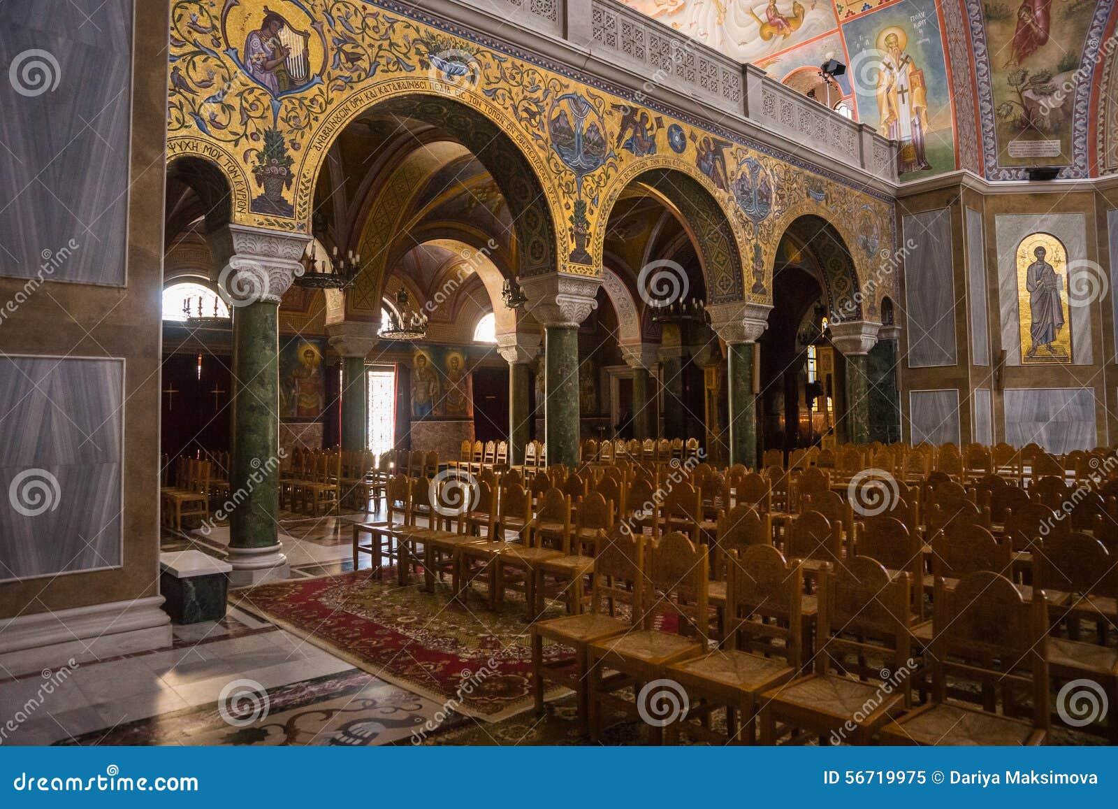 Kathedrale, Patras, Peloponnes, Griechenland