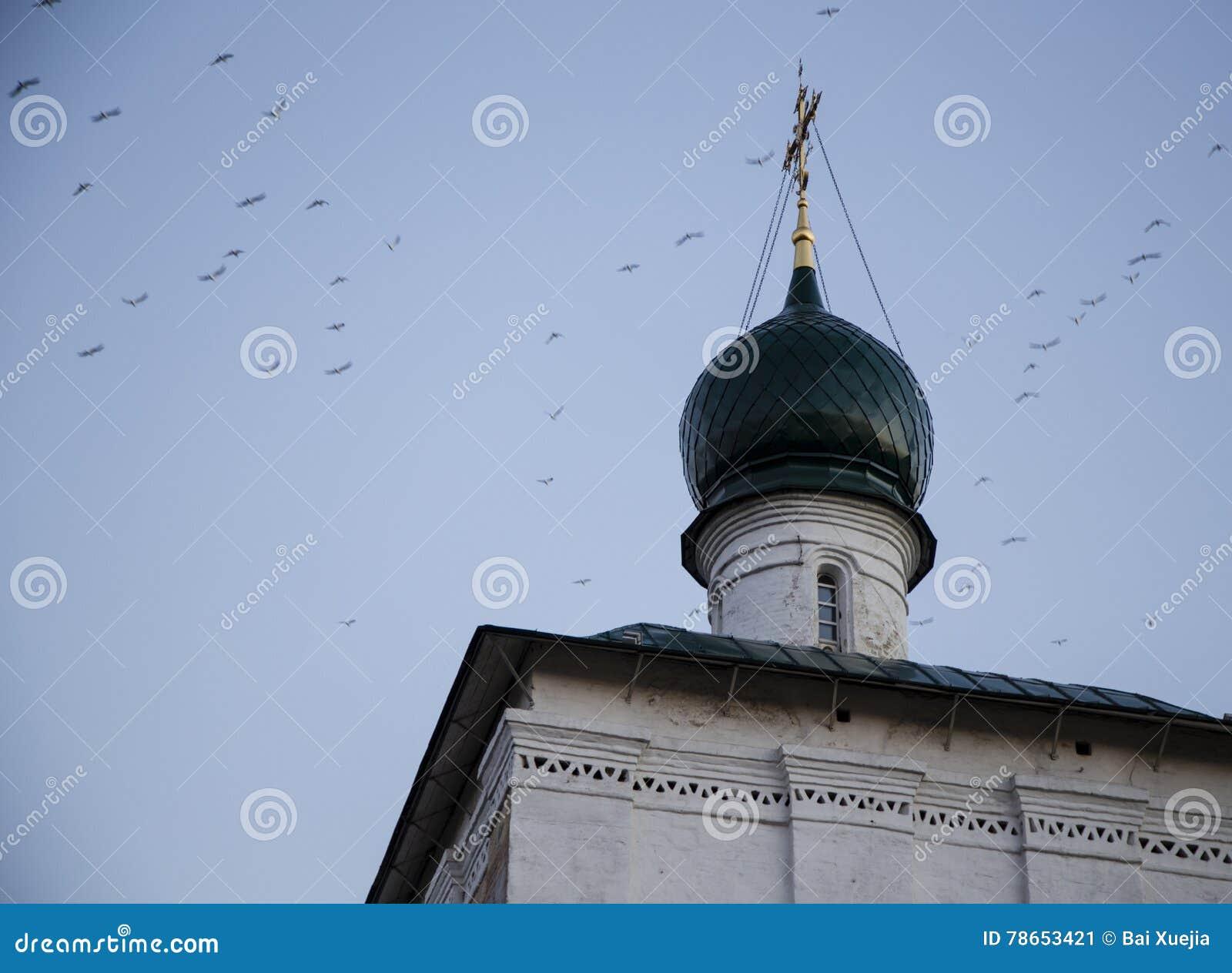 Kathedrale von Christus der Retter in Irkutsk, Russische Föderation