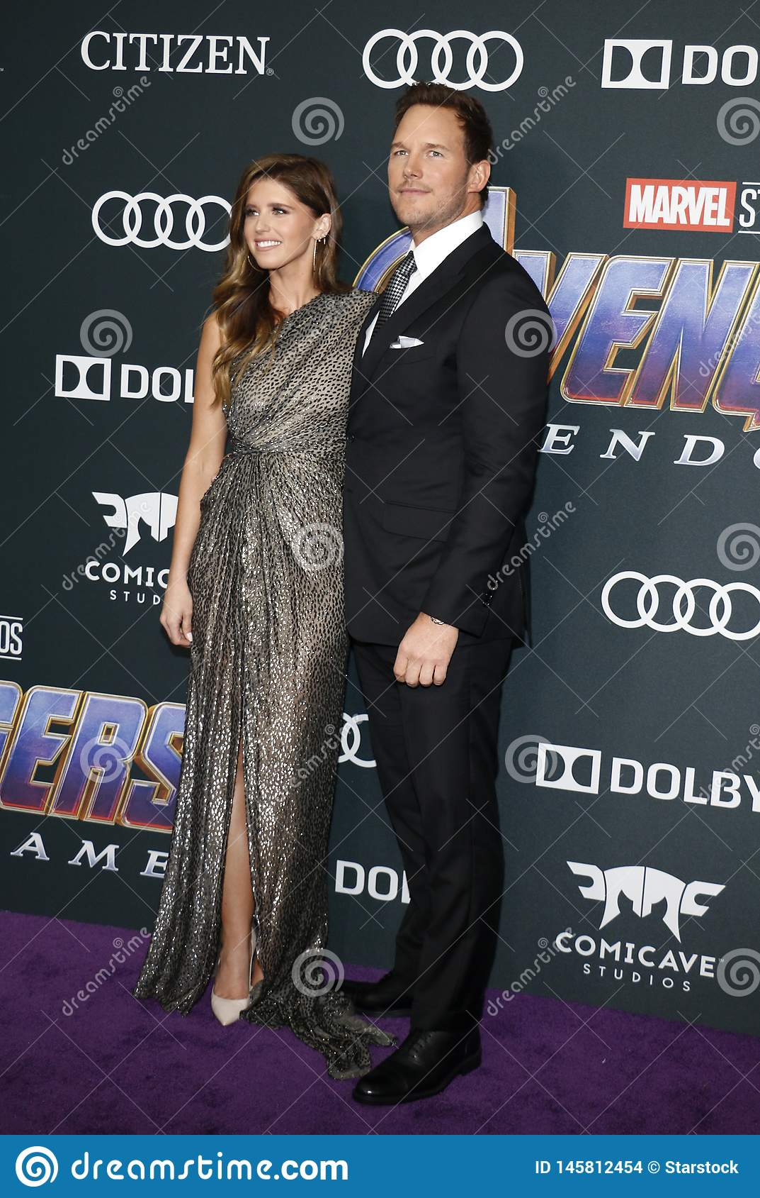 Katherine Schwarzenegger en Chris Pratt