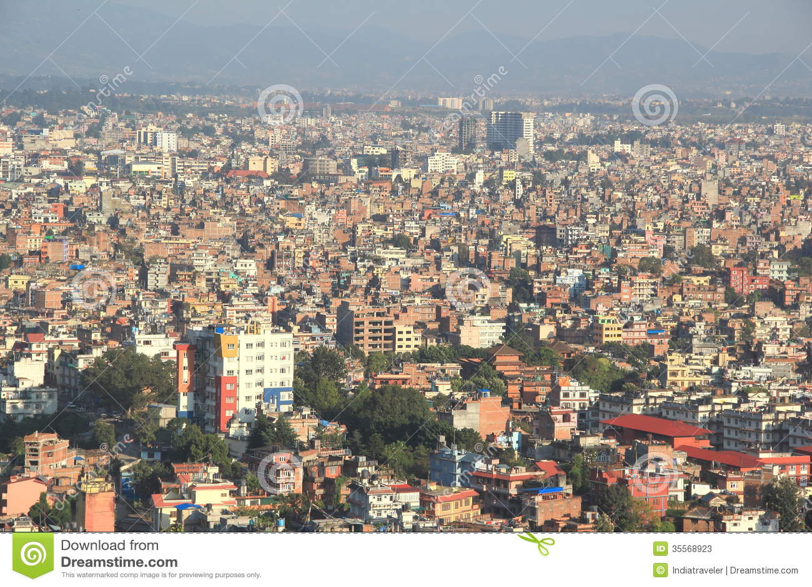 Kathmandu City Editorial Stock Photo Image 35568923