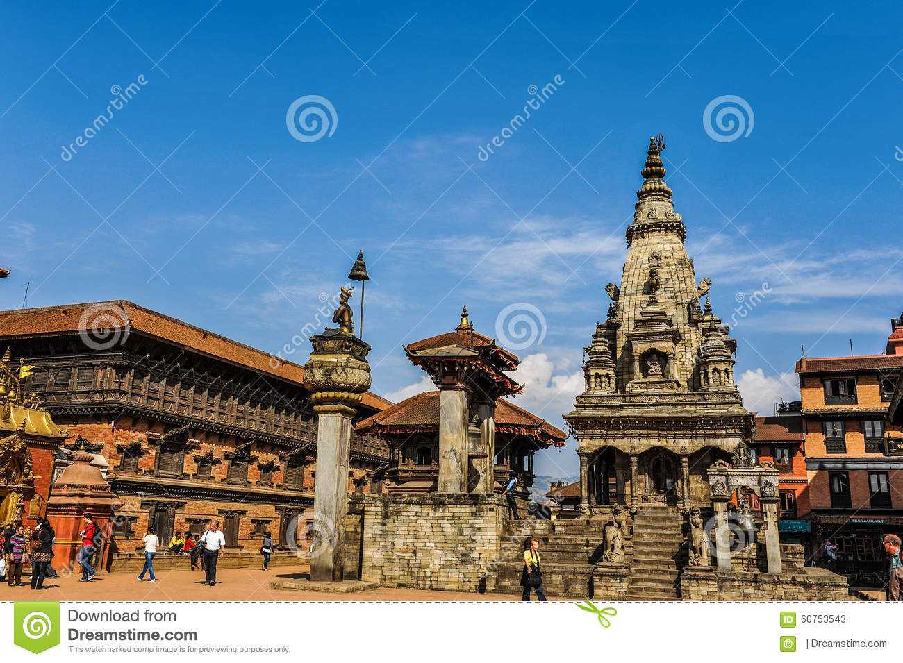 Kathmandu Of Nepal Editorial Stock Photo Image Of Nepal 60753543