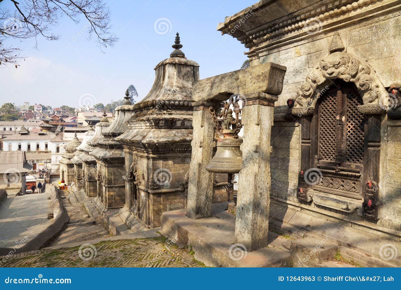 Kathmandu Nepal pashupatinath świątynia