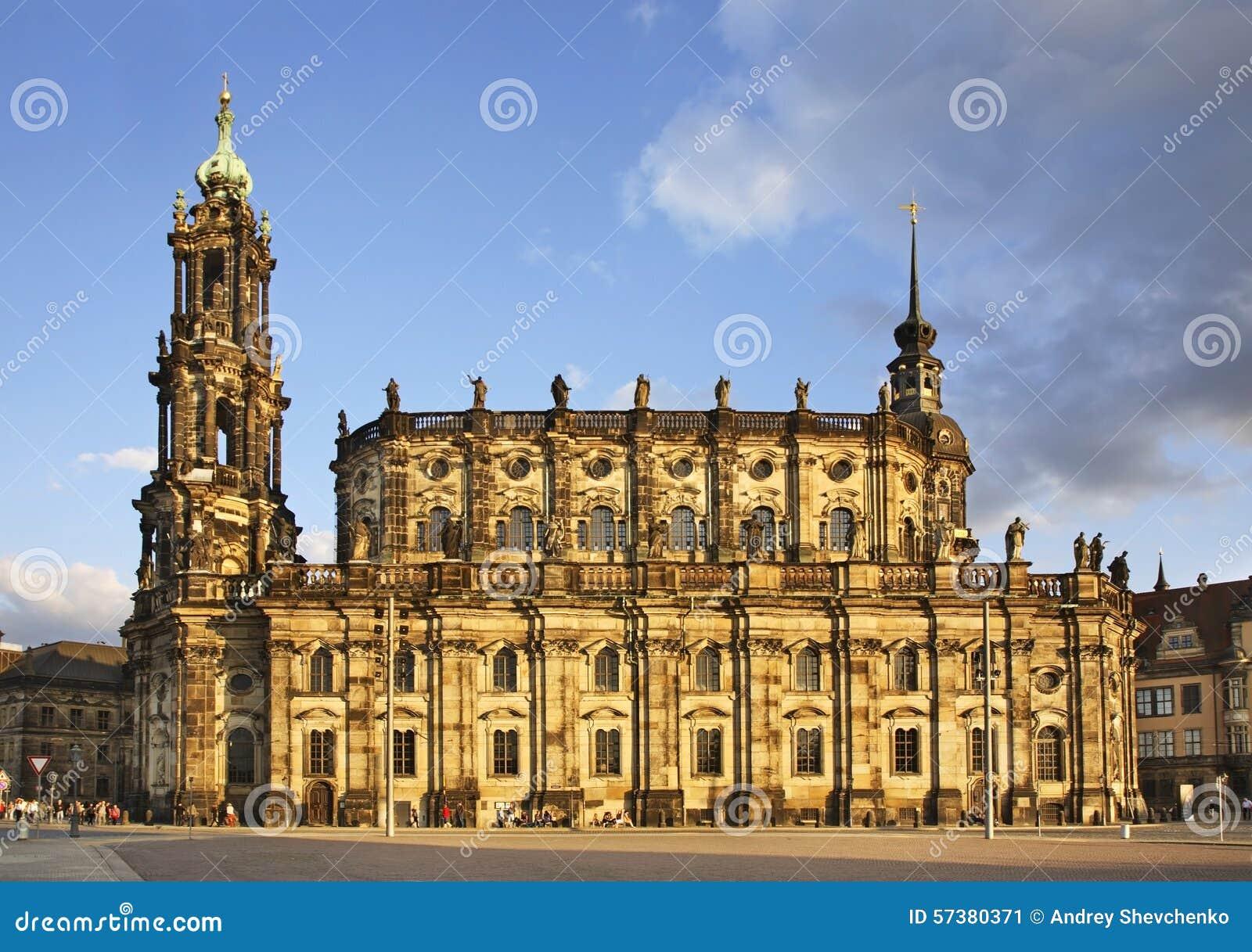 Katholische Hofkirche in Dresden duitsland