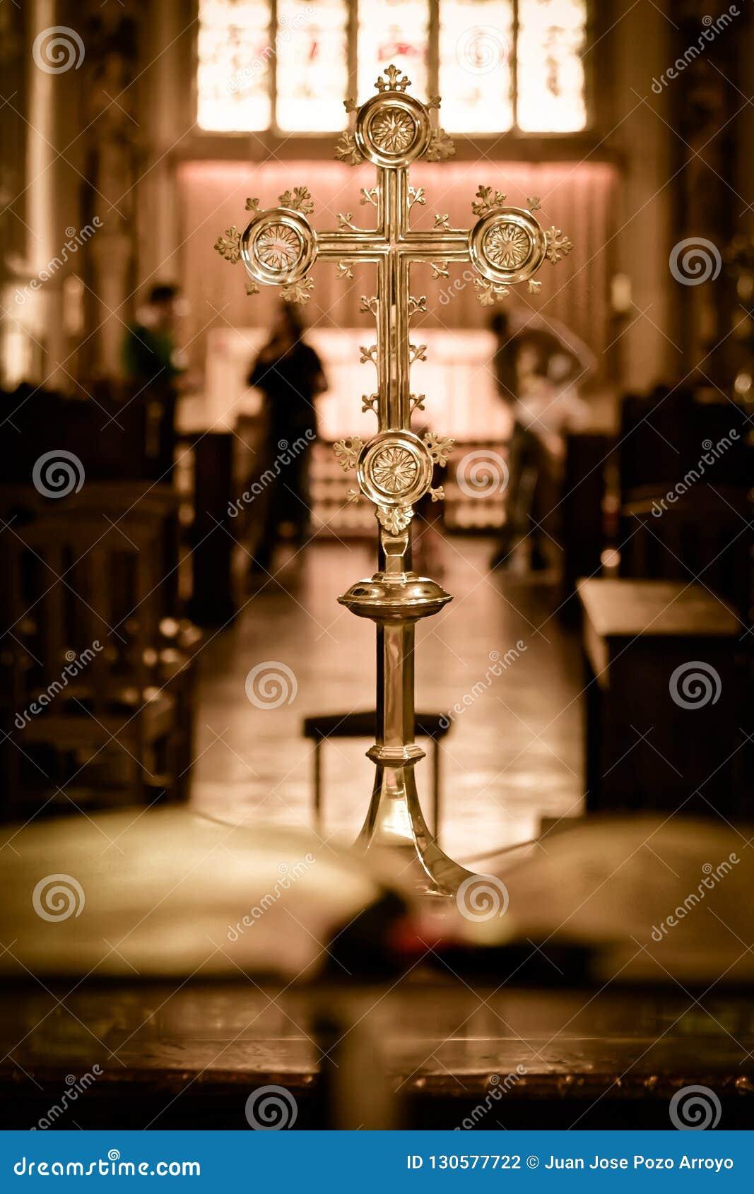 Katolika krzyż w kościół