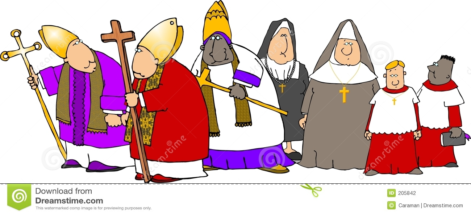 Katoliker ståtar