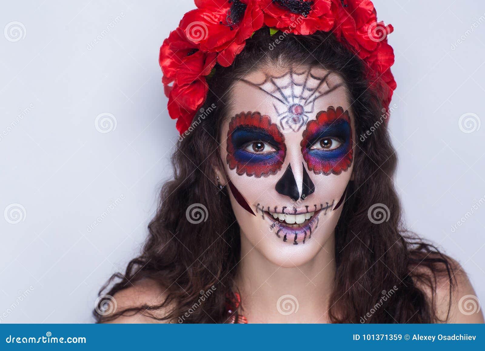 katrina calavera make up