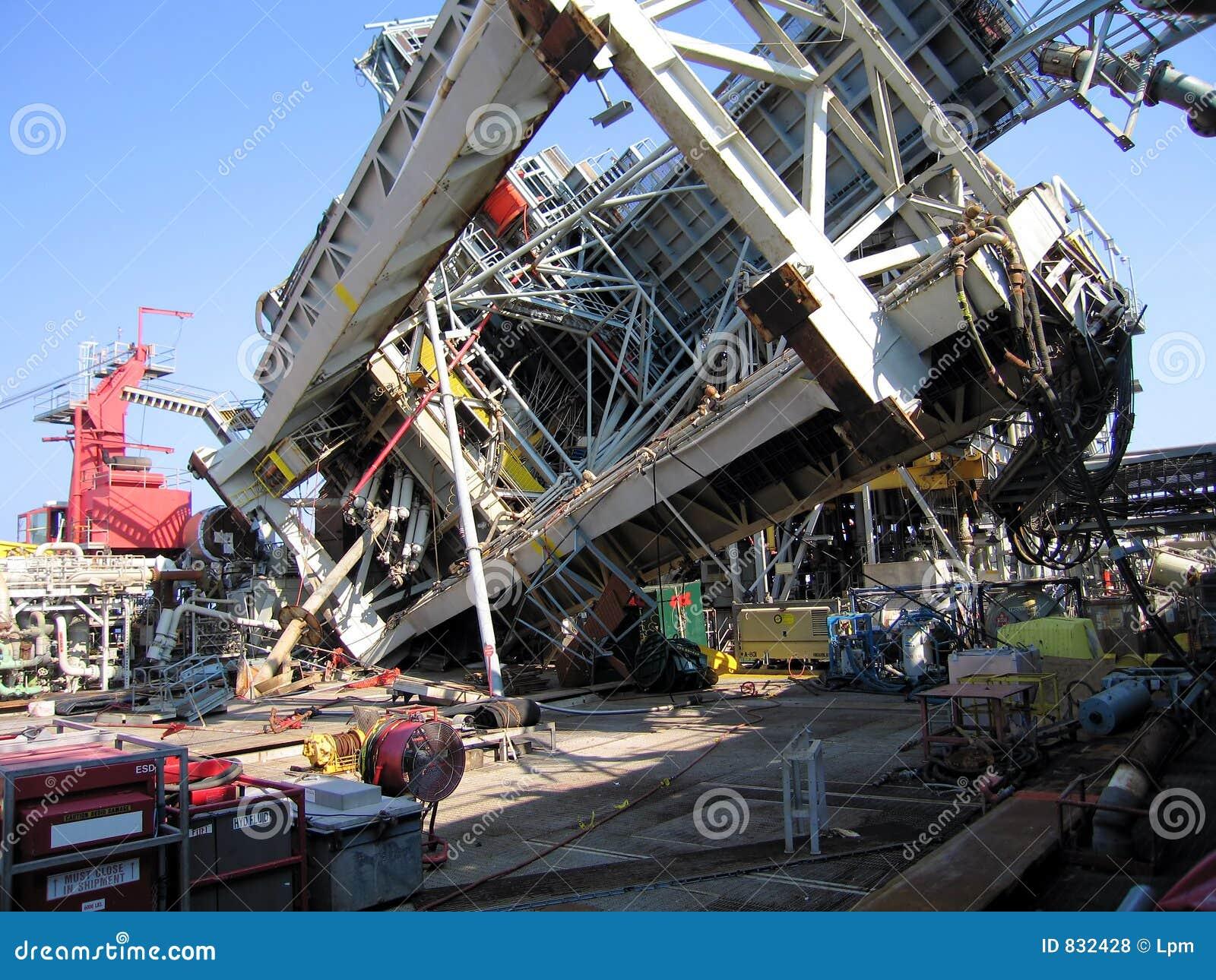 Katrina Damage Offshore