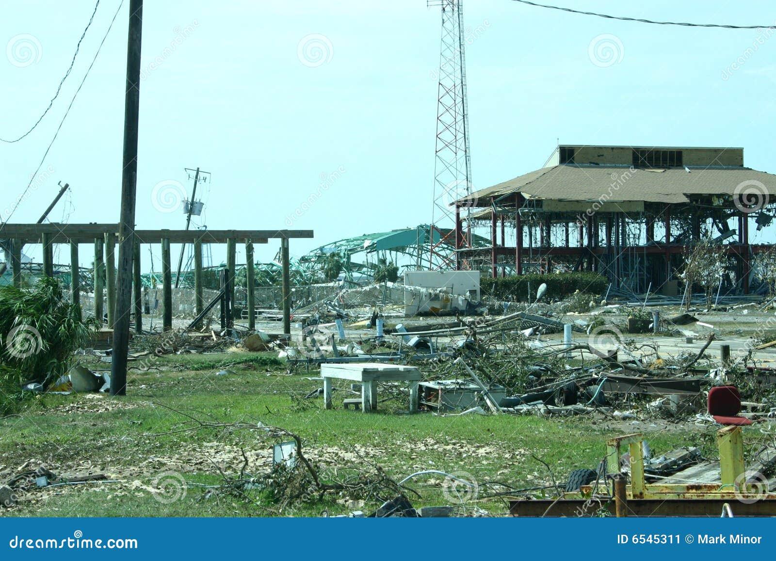 Katrina, puerto de Gulfport