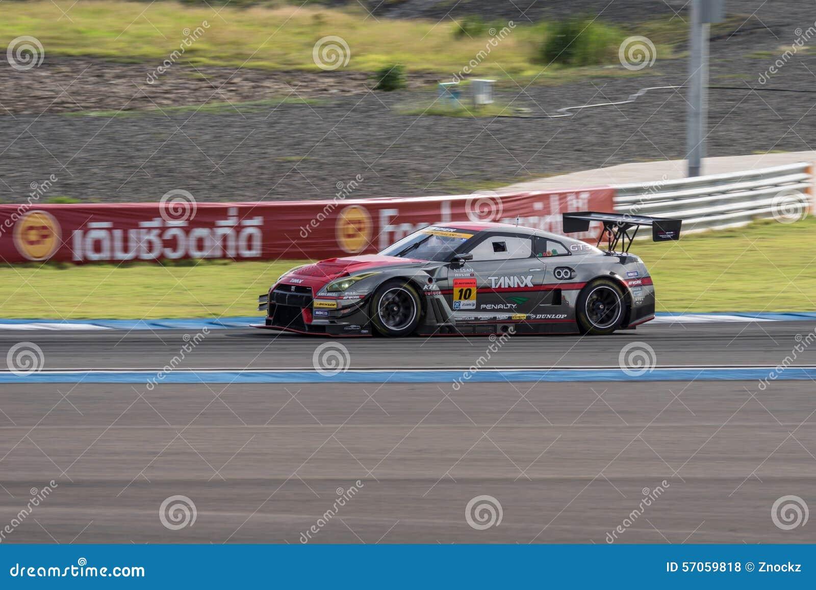 Katsumasa Chiyo van GAINER in Super Definitieve Race 66 van GT Overlappingen bij 2015