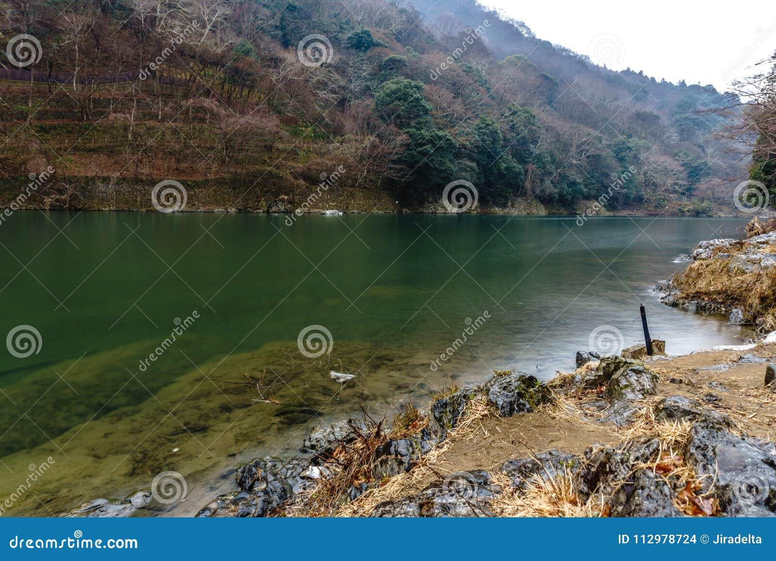 Katsura River in Winter