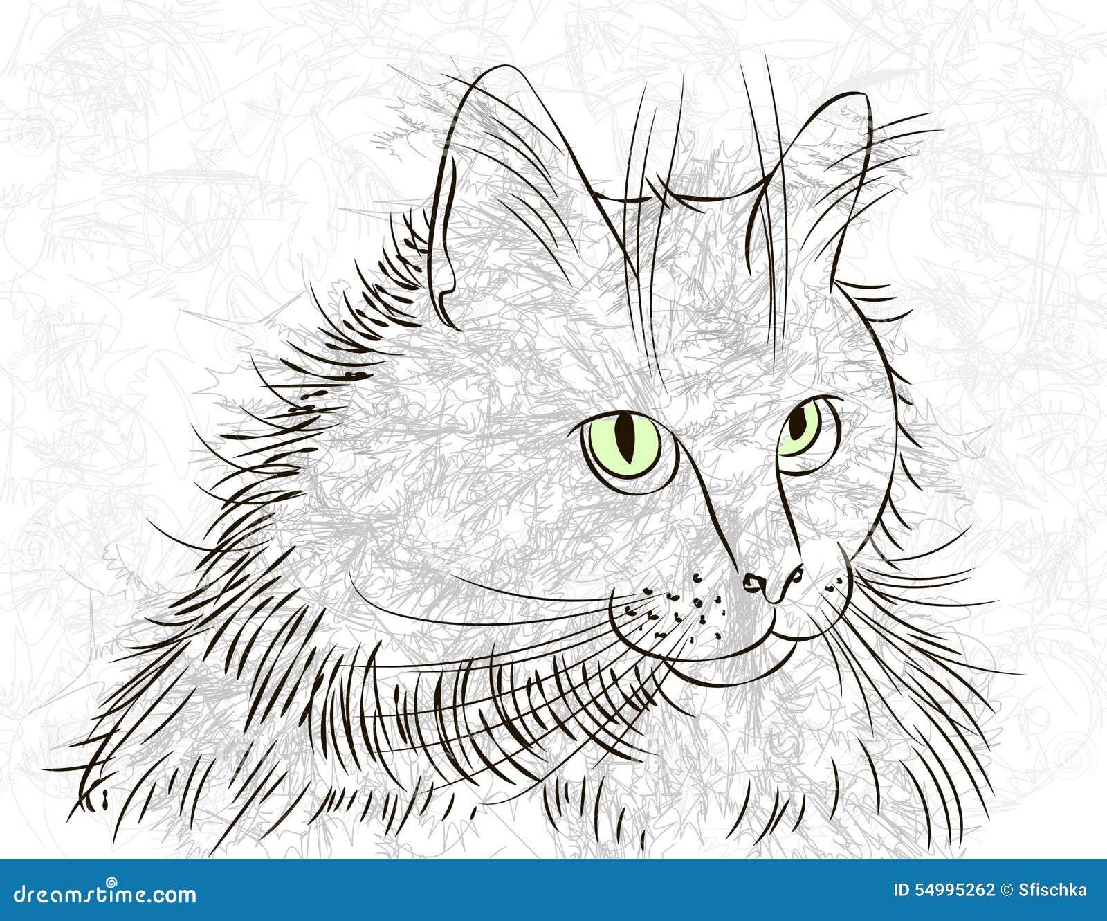 Kattfärgpulver