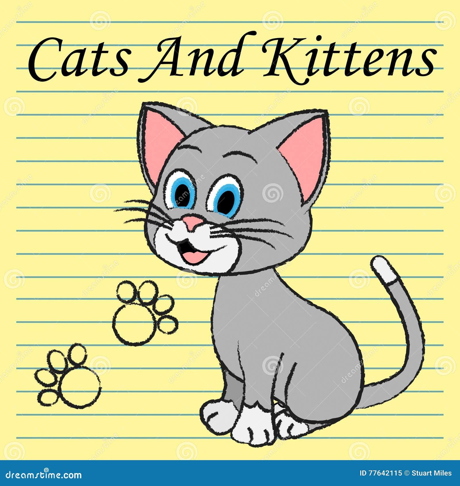 Kattkattungeshower Kitty Puss And Feline