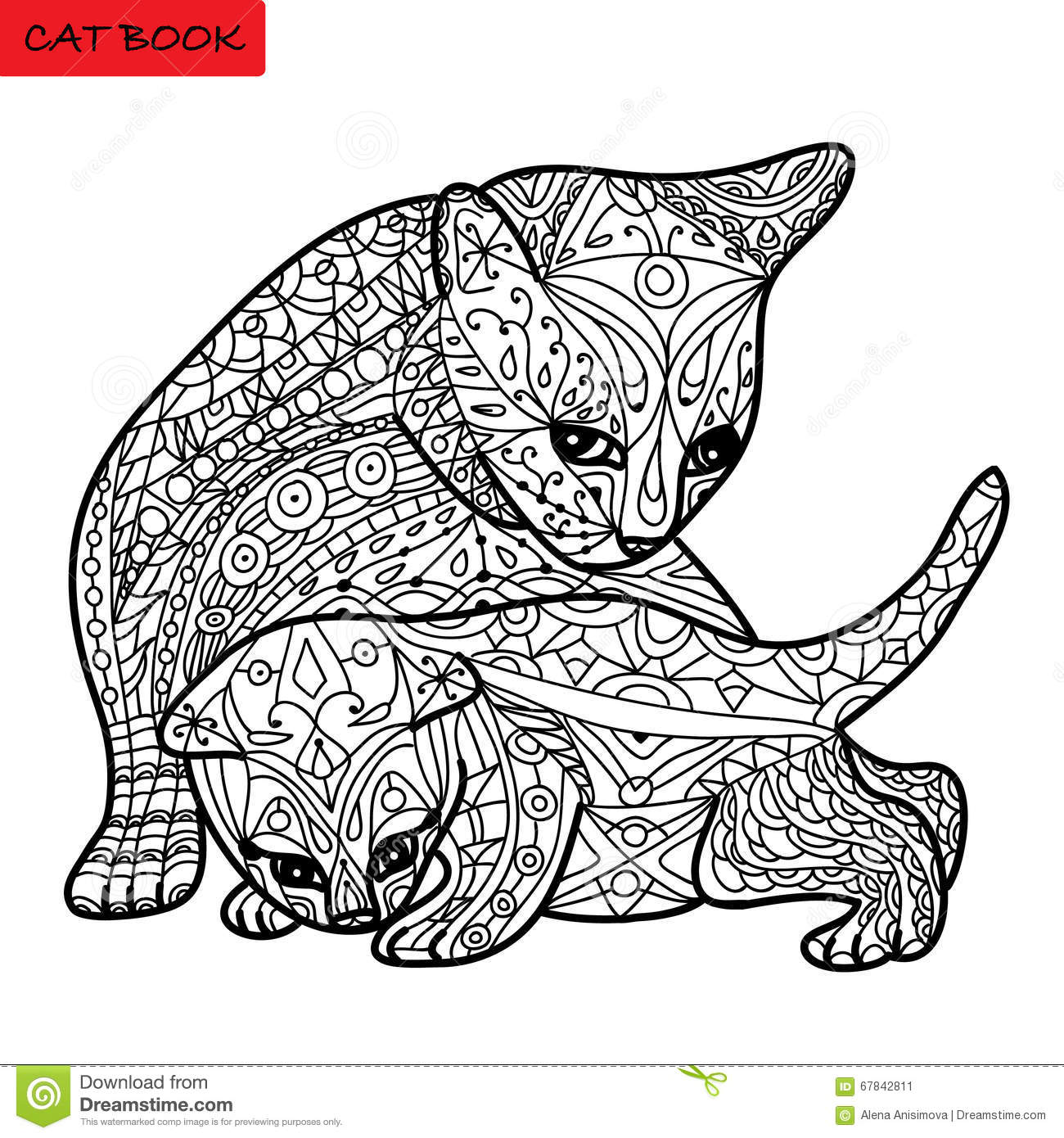 Mola Art Coloring Pages