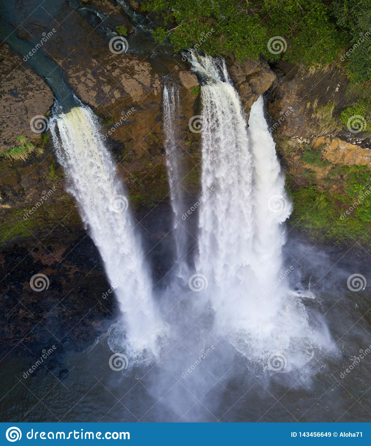 Kauai Kailua spadki