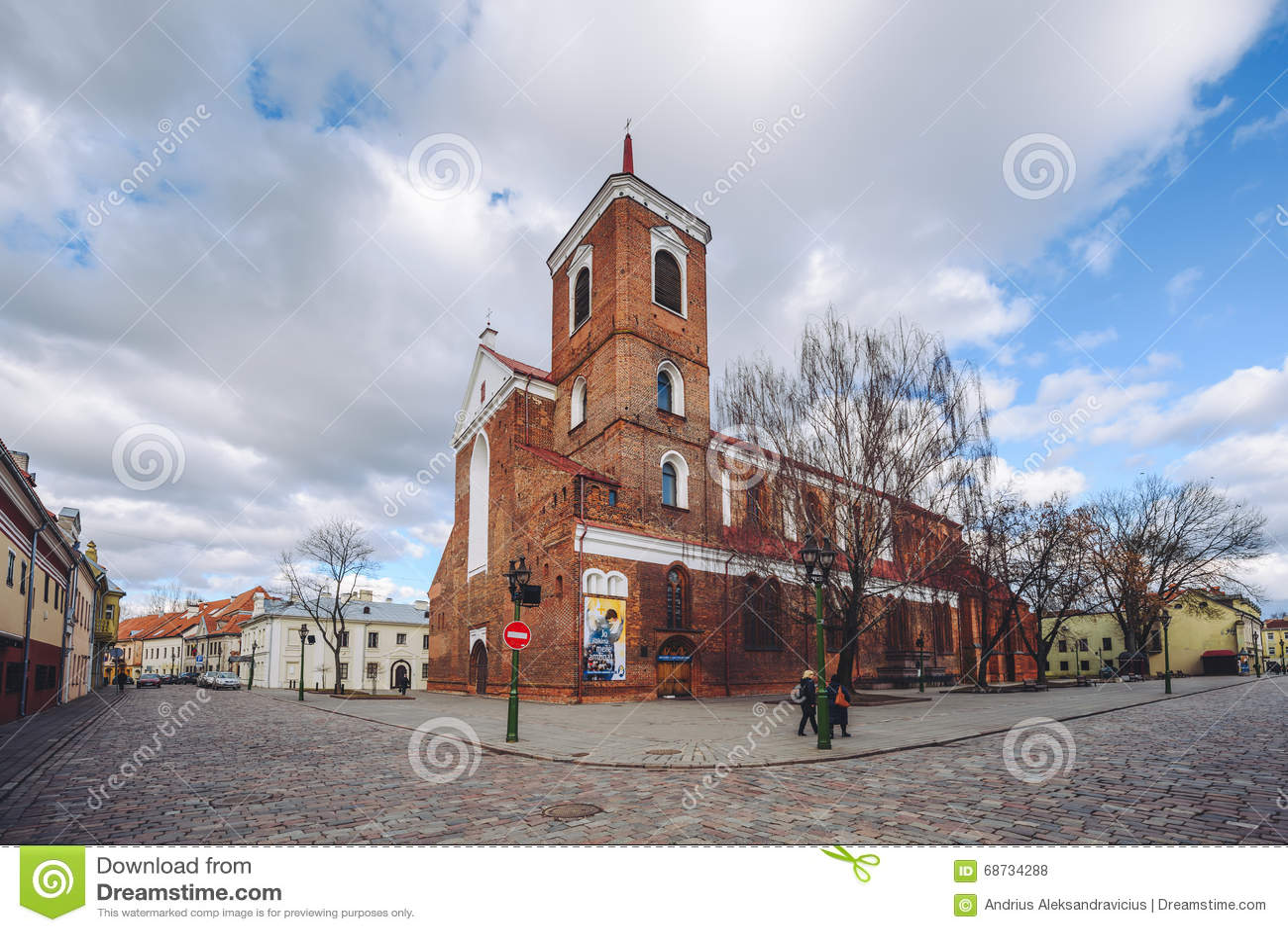 Kaunas kathedralen basilika litauen redaktionelles for Architektur klassisch