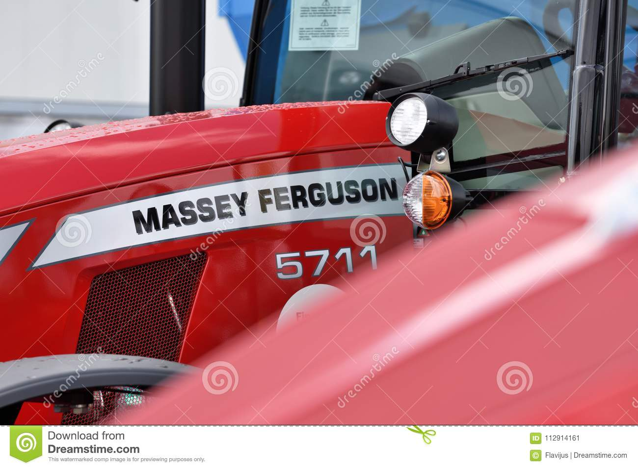 Massey Ferguson tractor editorial photo  Image of horticulture