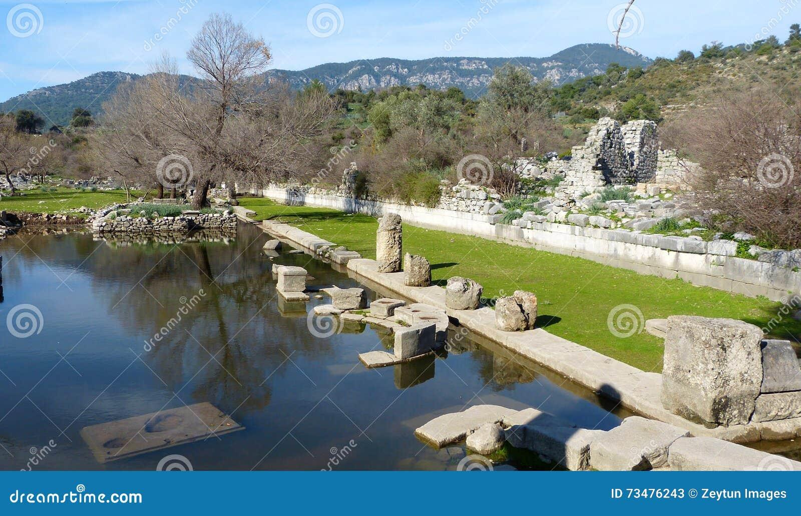 Kaunos喷泉
