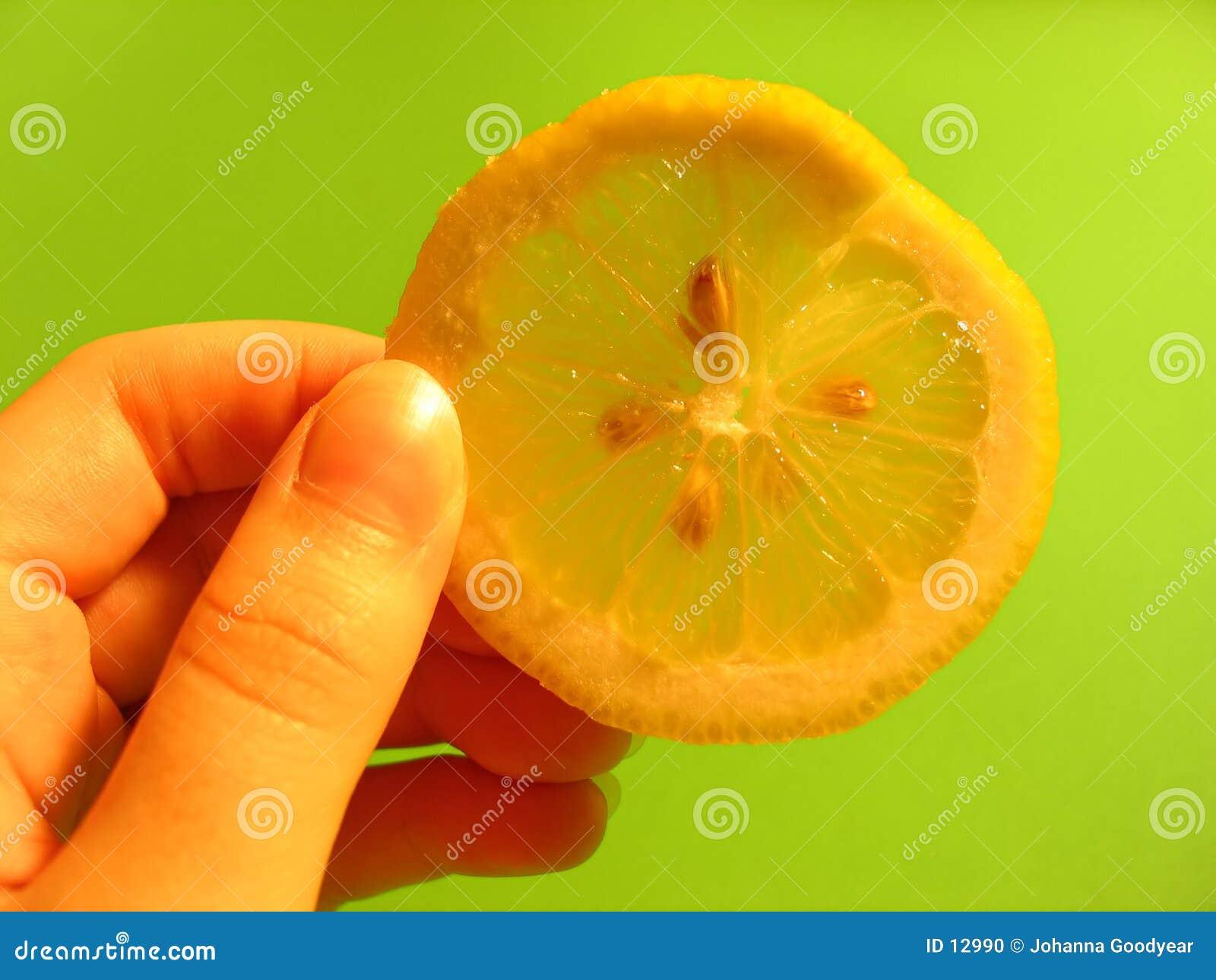 Kawałek cytryny