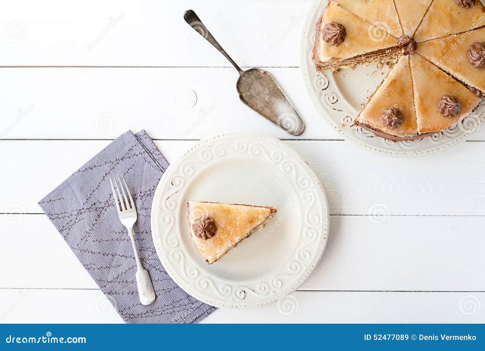 Kawałek płatowaty tort (Dobosh węgra tort)