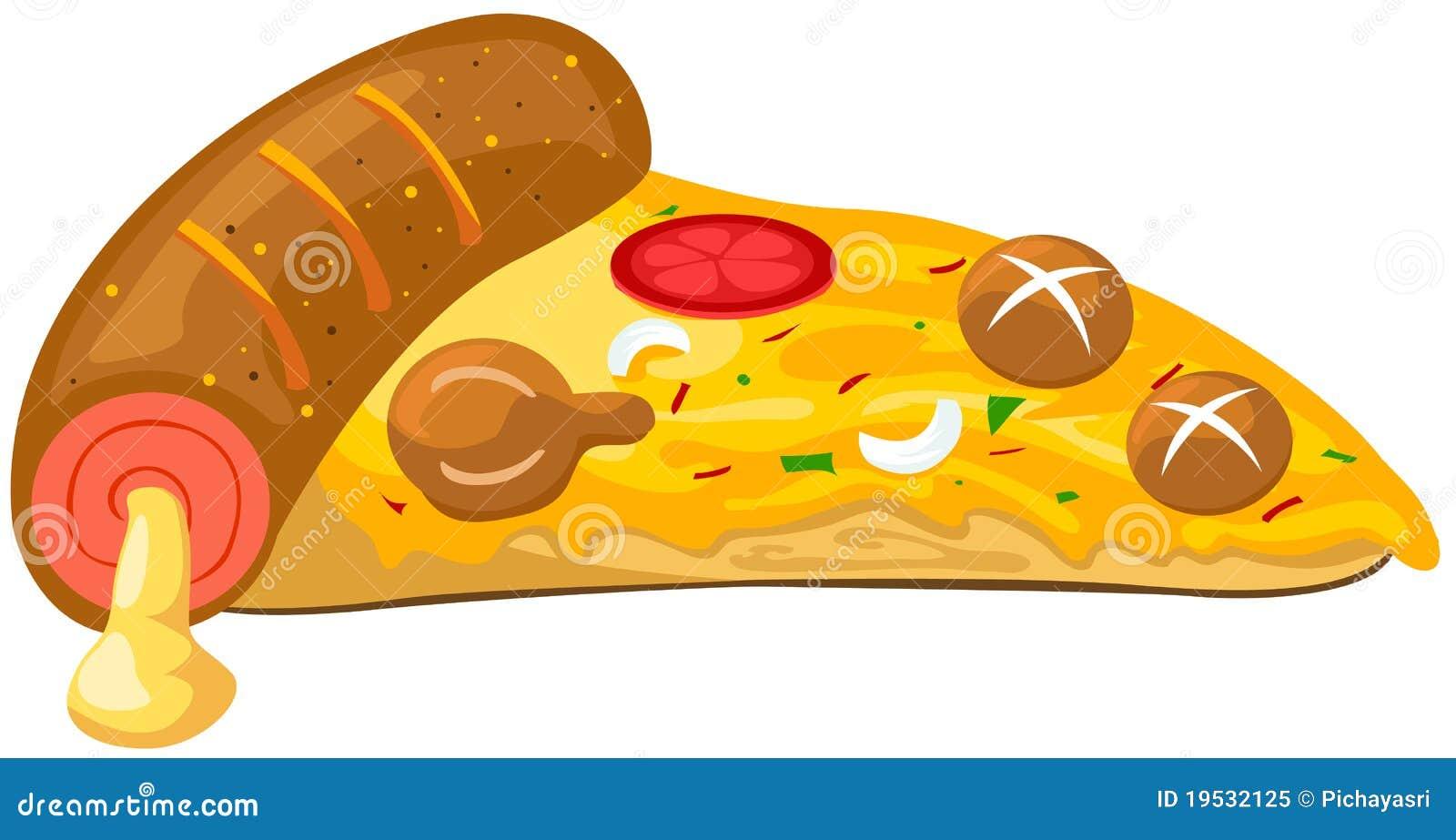 Kawałek pizza
