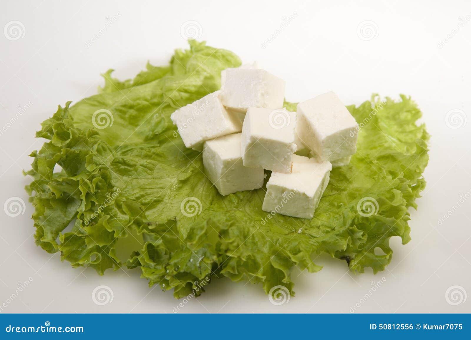Kawałek ser lub Paneer