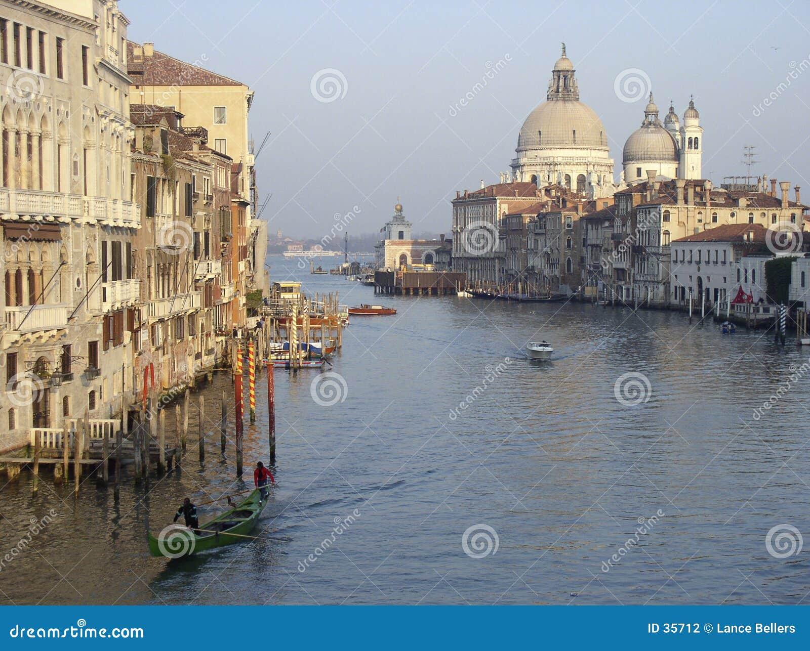 Kawałków kanałowy Wenecji