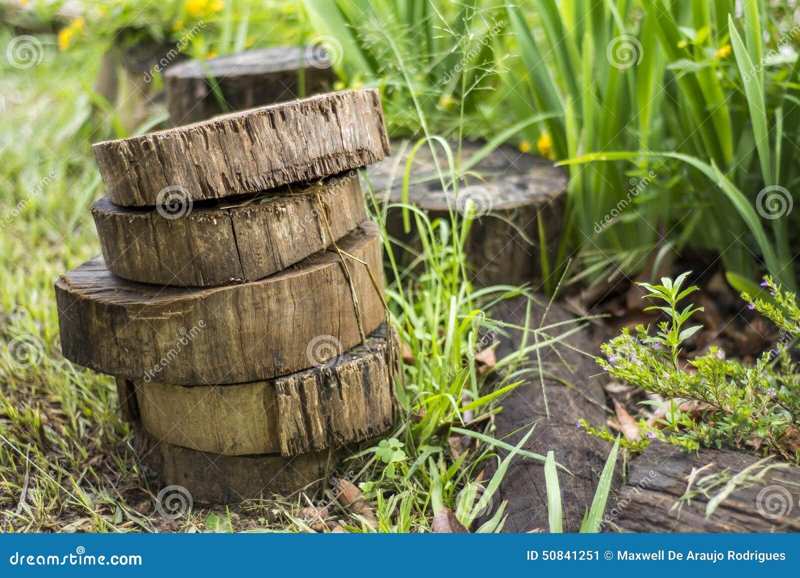Kawałki drewno
