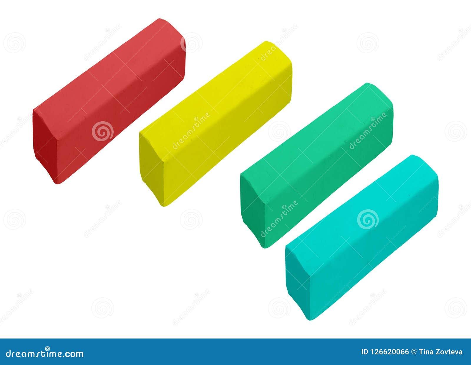 Kawałki kolor kreda
