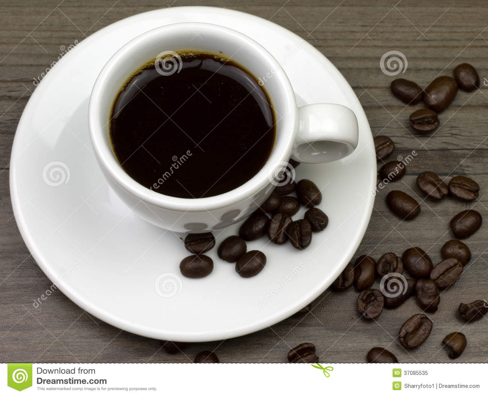 Download Kawa obraz stock. Obraz złożonej z fasole, przerwa, przyjemność - 37085535