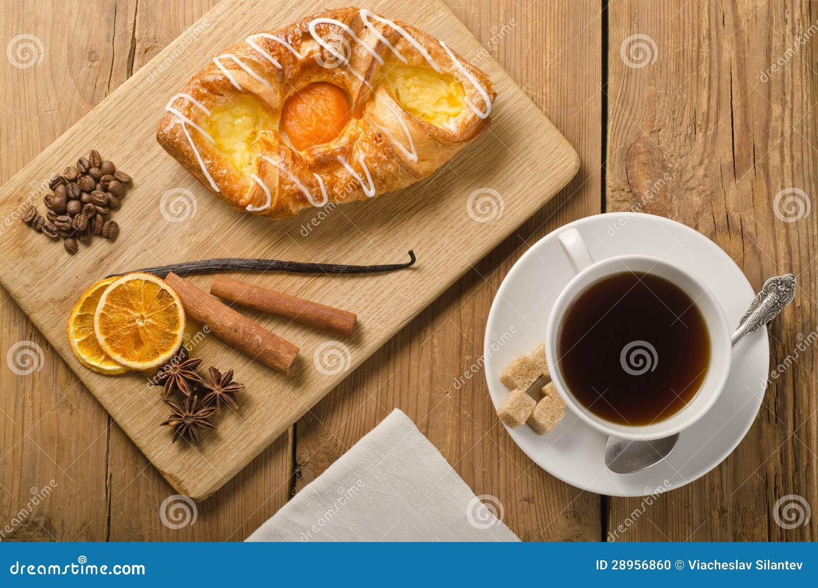 Kawa i babeczka